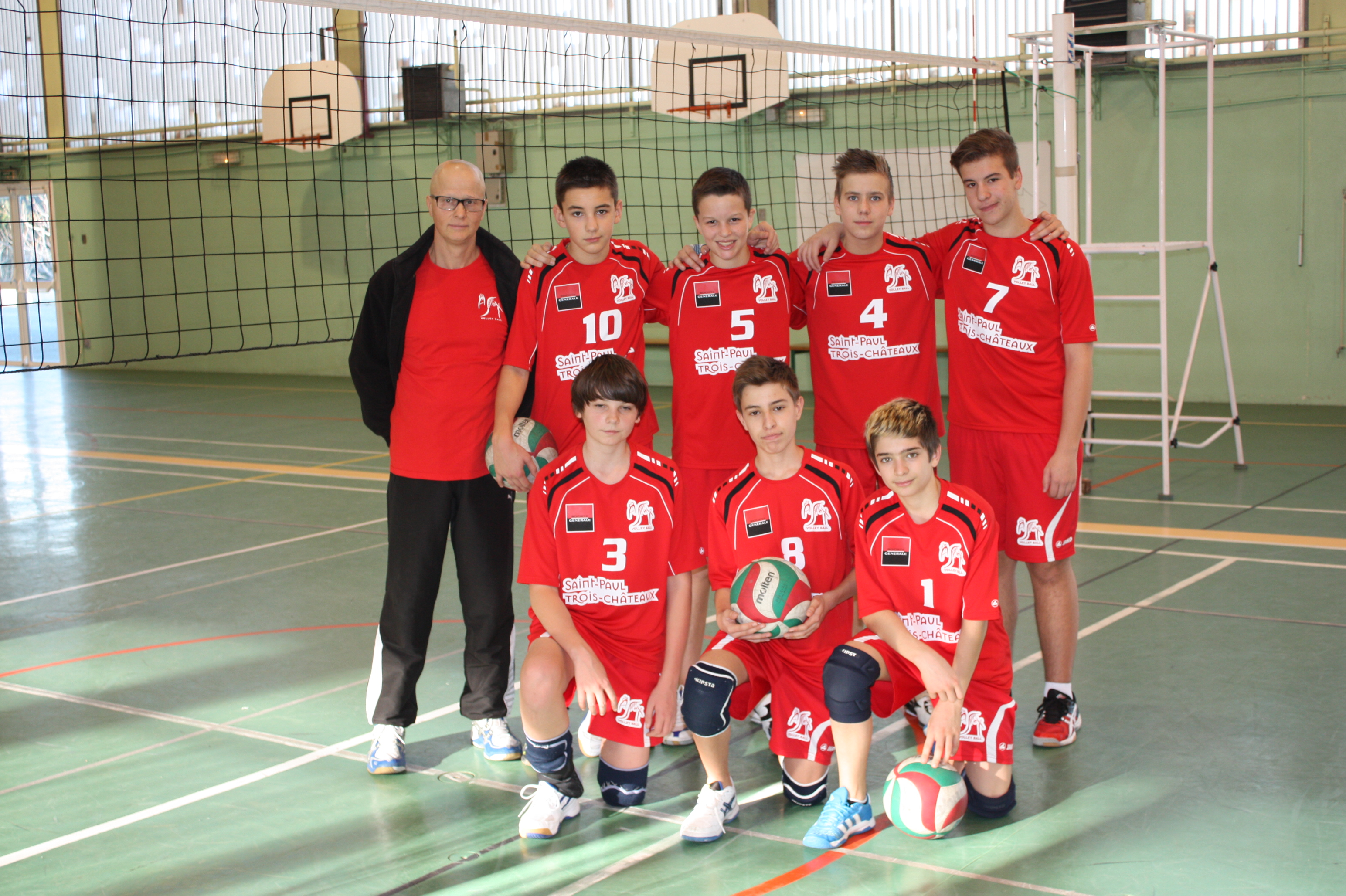 Minimes - Site de l'association tricastine volley ballSite