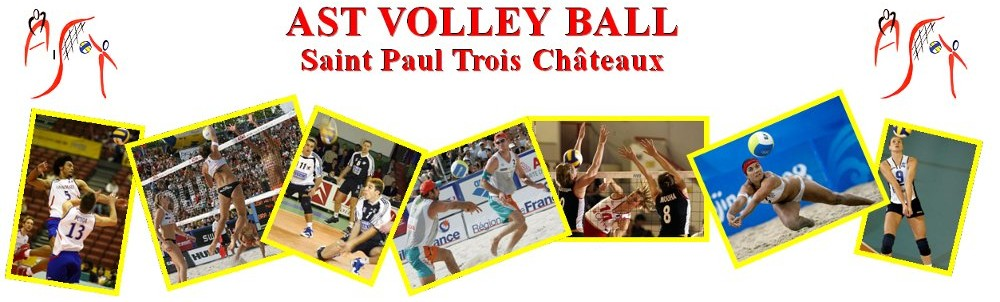 Site de l'association tricastine volley ball